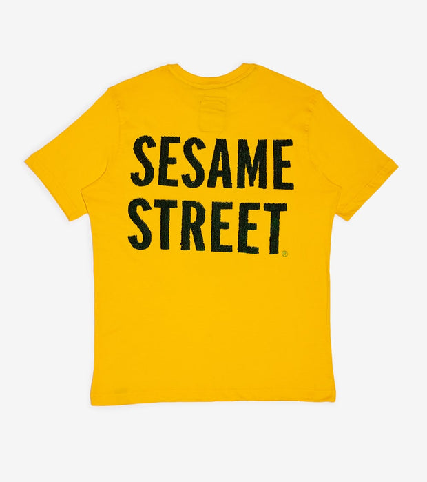 DE.KRYPTIC  Sesame St Oscar the Grouch Tee  Yellow - TS994QSES-YLW | Jimmy Jazz