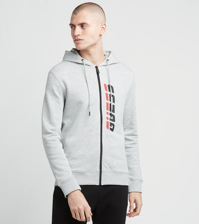 Guess  Guess Full Zip Hoodie  White - U0BA50K9V31-H905 | Jimmy Jazz