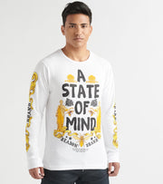 Reason  State LS Tee  White - U136J-WHT | Jimmy Jazz