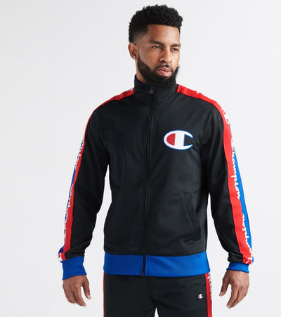 Champion  Track Jacket With Taping  Black - V3377550259-HHT | Jimmy Jazz
