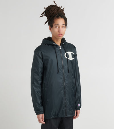 Champion  Sherpa Lined Stadium Jacket  Black - V3764550278-003 | Jimmy Jazz
