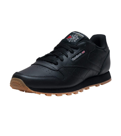 Reebok  CLASSIC LEATHER GUM SNEAKER  Black - V69623 | Jimmy Jazz
