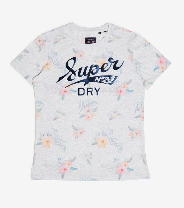 Superdry  Tropical All Over Print Tee  Multi - W1010121A-54G | Jimmy Jazz