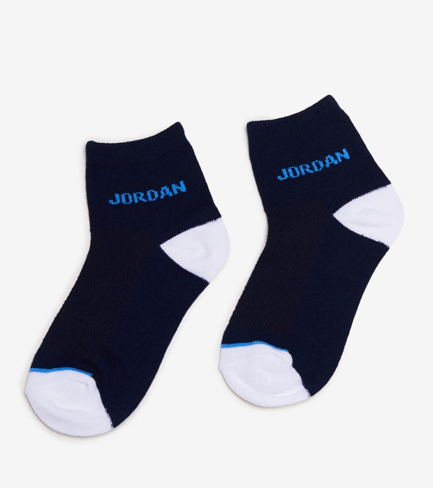 Jordan  3 Pack Jordan Moto Patch Socks  Burgundy - WJ0183-695 | Jimmy Jazz