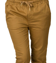 Essentials  Super Stretch Twill Joggers  Beige - WJP10-WHE | Jimmy Jazz