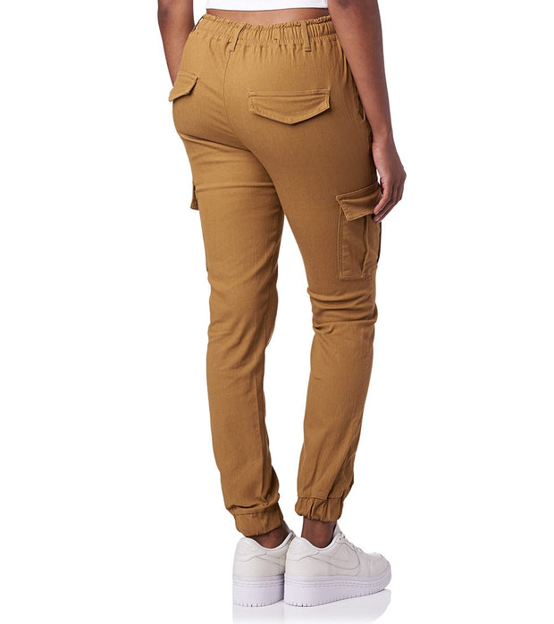 Essentials  Super Stretch Twill Joggers  Beige - WJP15-WHE | Jimmy Jazz