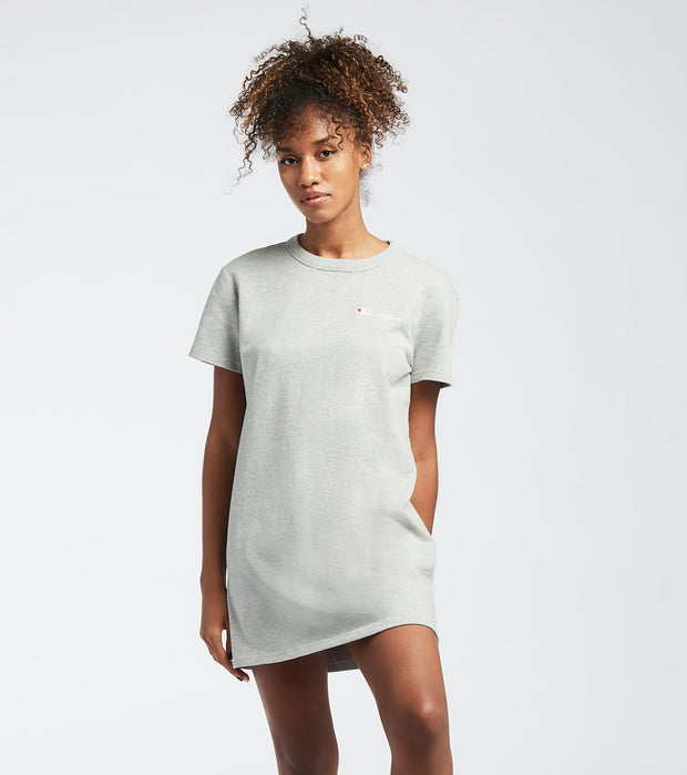 Champion  The Boyfriend Tee Dress  Grey - WL5722550611-806 | Jimmy Jazz