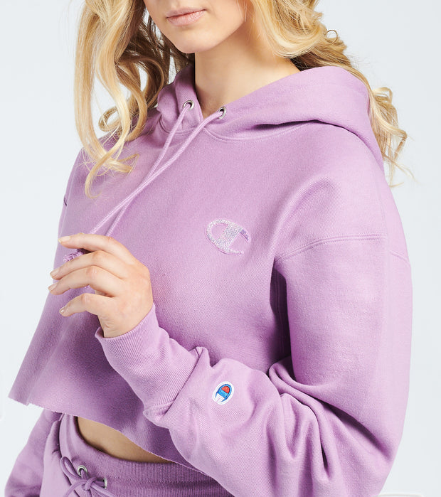 Champion  Reverse Weave Cropped Pullover Hoodie  Purple - WL659586399-XW6 | Jimmy Jazz