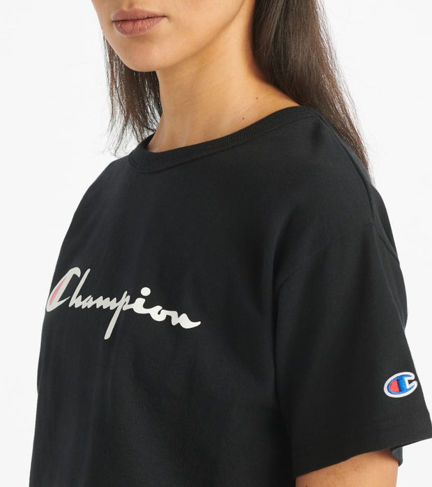 Champion  Heritage Crop Ink Script  Black - WL956551058-003 | Jimmy Jazz
