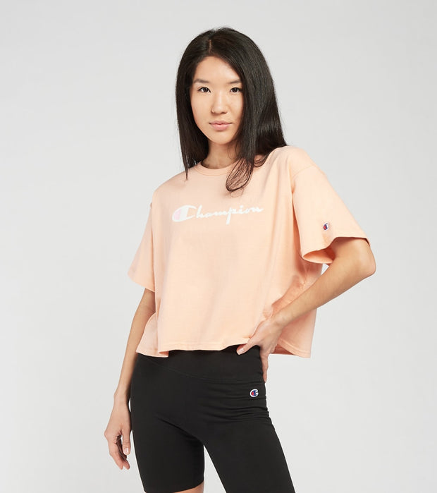 Champion  Heritage Cropped Tee  Pink - WL956551260-9Q1 | Jimmy Jazz