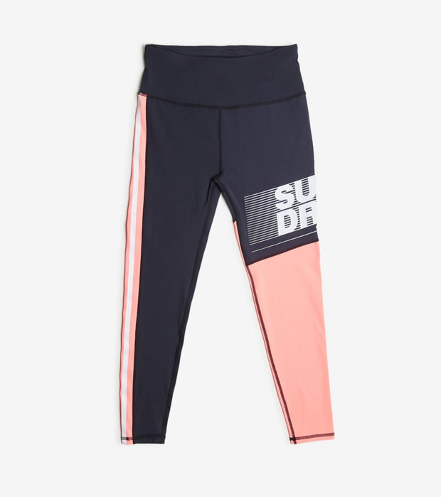 Superdry  Training Graphic 7/8 Leggings  Pink - WS300057A-MYH | Jimmy Jazz