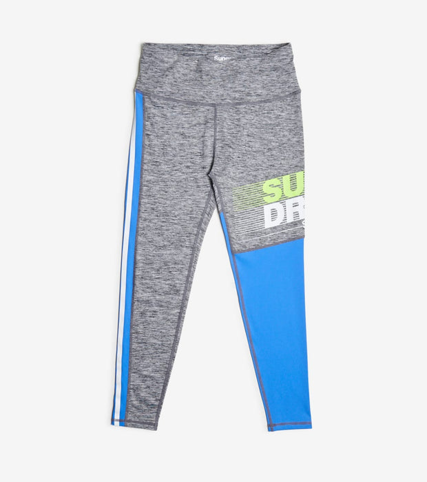 Superdry  Training Graphic 7/8 Leggings  Blue - WS300057A-VFJ | Jimmy Jazz