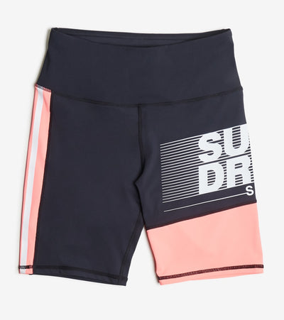 Superdry  Training Graphic Tight Shorts  Black - WS300065A-MYH | Jimmy Jazz