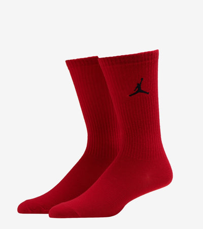 Jordan  2 Pack All Over Print Crew Socks  Red - XJ0091-R78 | Jimmy Jazz