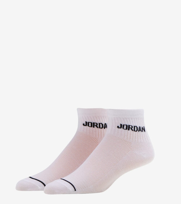 Jordan  Jordan 6 Pack Quarter Tipping Socks  White - XJ0139-001 | Jimmy Jazz
