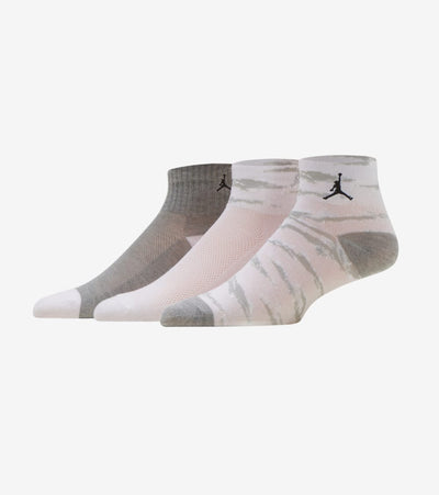 Jordan  3PK Tiger Camo Quarter Socks  White - XJ0144-001 | Jimmy Jazz