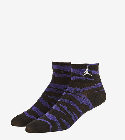 Jordan  3 Pack Quarter Camo Socks  Blue - XJ0144-B47 | Jimmy Jazz