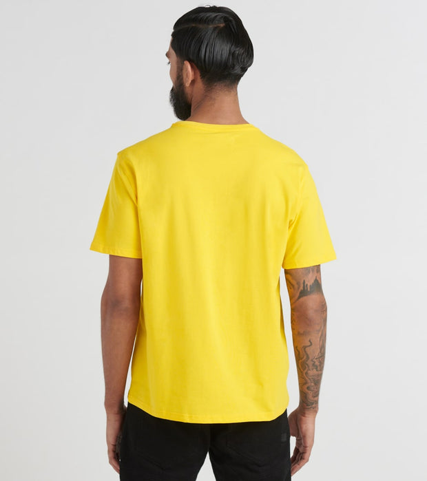 Black Pyramid  Look Out Girl Tee  Yellow - Y1162491-VLT | Jimmy Jazz