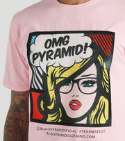 Black Pyramid  OMG Girl Tee  Pink - Y1162492-PNK | Jimmy Jazz
