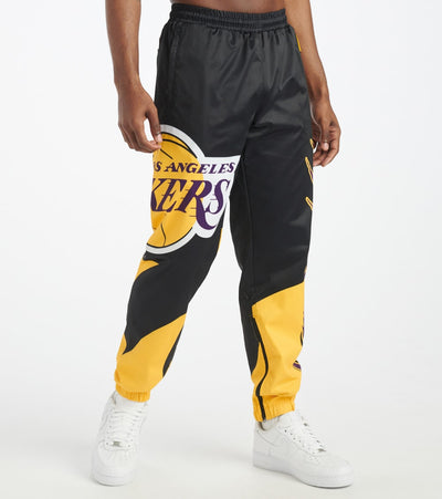 Black Pyramid  Los Angeles Lakers Logo Pant  Yellow - Y4162365-YEL | Jimmy Jazz