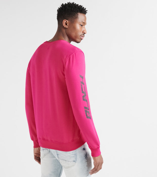 Black Pyramid  Moongirl Fleece Crew  Pink - Y5162233-PNK | Jimmy Jazz