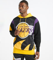 Black Pyramid  Los Angeles Lakers Logo Hoody     Yellow - Y5162363-YEL | Jimmy Jazz