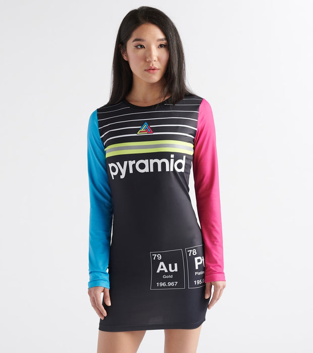 Black Pyramid  Pyramid Elements Dress  Multi - YWB870132-MUL | Jimmy Jazz