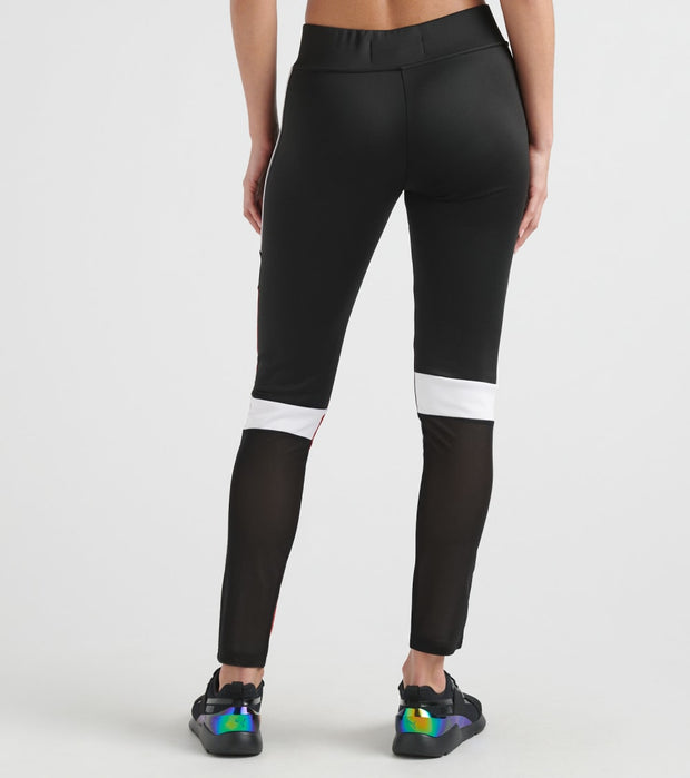 Black Pyramid  Block Leggings  Black - YWG870122-BLK | Jimmy Jazz