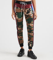 Black Pyramid  Color Pop Camo Joggers  Green - YWG870125-CAM | Jimmy Jazz