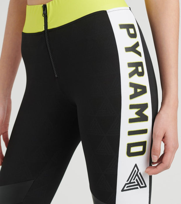 Black Pyramid  Pyramid Sportif Leggings  Black - YWG870184-BLK | Jimmy Jazz