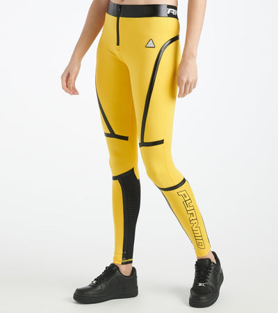 Black Pyramid  Taped Seam BPX Sport Legging  Yellow - YWG870193-YEL | Jimmy Jazz