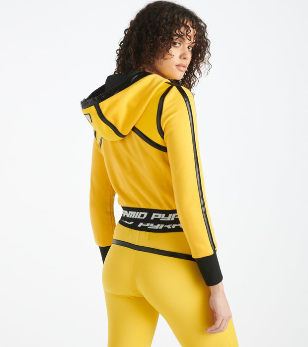 Black Pyramid  Taped Seam BPX Sport Hoodie  Yellow - YWU870191-YEL | Jimmy Jazz