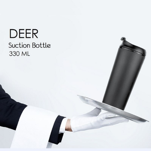 DEER Thermal Suction Spill Proof Bottle - FOXBOXSTORES