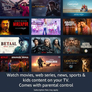 All-new Fire TV Stick Lite with Alexa Voice Remote Lite - FOXBOXSTORES