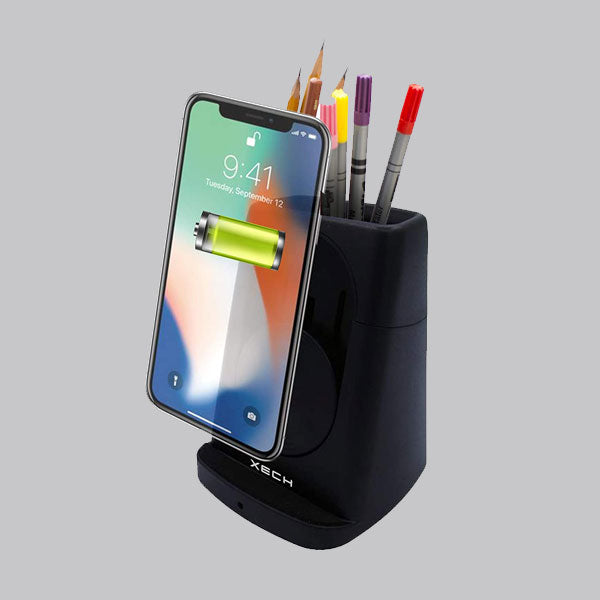 Pen Stand with Wireless Charger