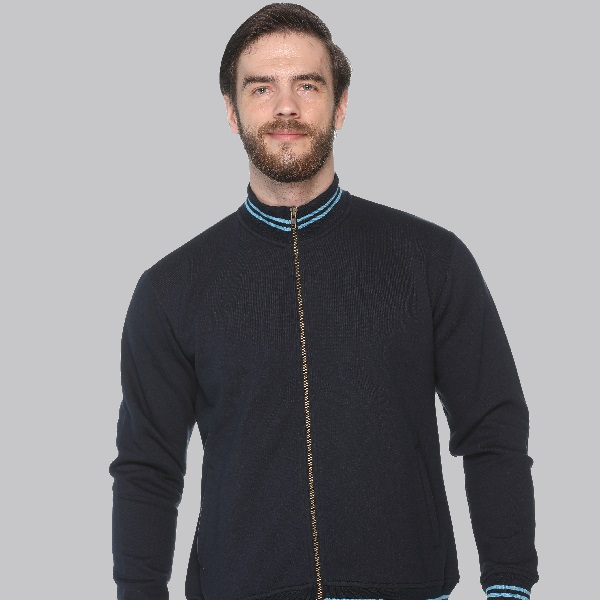Zero Degree Turtle Neck Navy Blue with Electric Blue