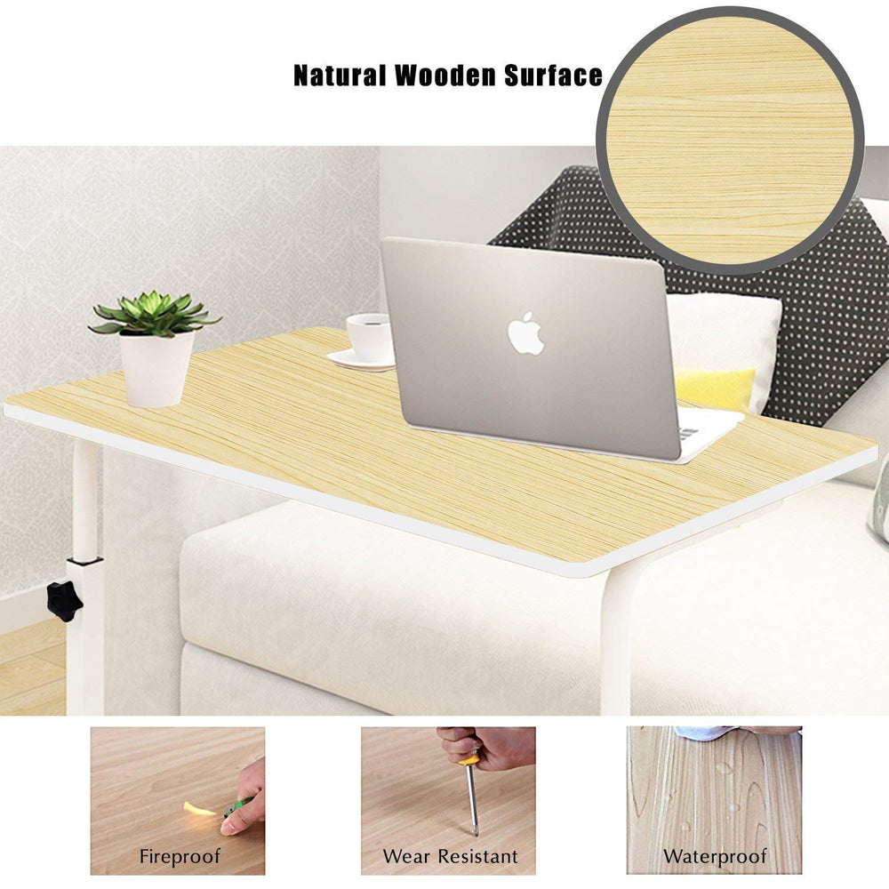 Load image into Gallery viewer, Tarkan Classico Wood Portable Laptop Table - FOXBOXSTORES