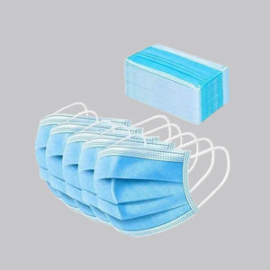 3 Ply Mask With Melt Blown Filter(50 Pcs Set) - FOXBOXSTORES
