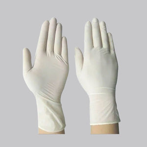 Latex Examination Gloves(100 Pcs Set) - FOXBOXSTORES