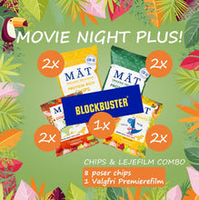 Indlæs billede til gallerivisning DEAL: MOVIE NIGHT PLUS - INKL. PREMIEREFILM!