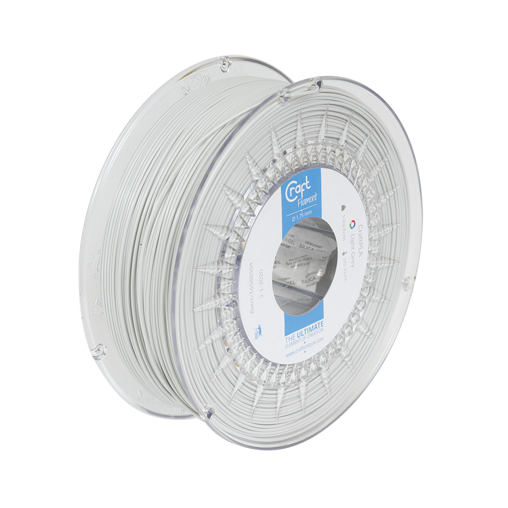 PLA filament Light Grey 1kg