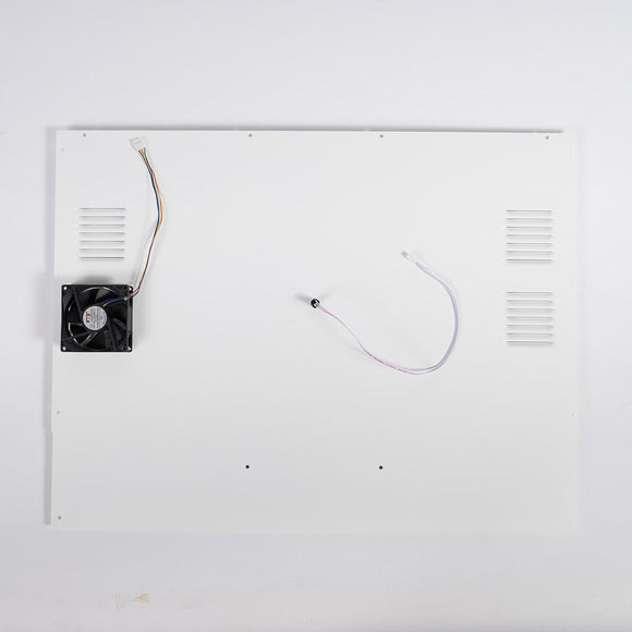 Craftbot Flow Idex White Back Plate Assembly