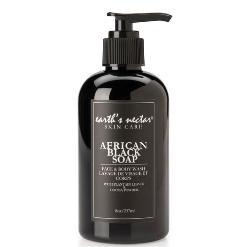 African Liquid Black Soap Shampoo