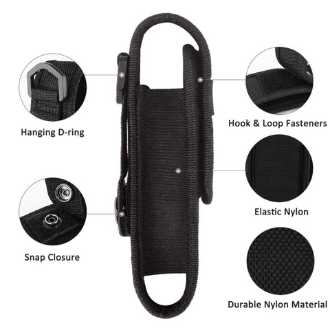 Flashlight Pouch Features