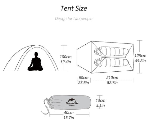 Size Of Tent