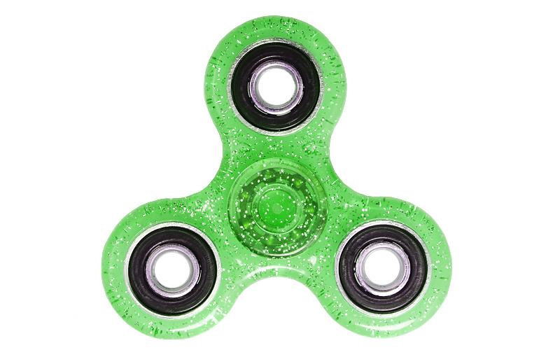 Αγχολυτικό παιχνίδι Fidget Spinner Anti Stress 1 minute - Green/Black GL-50706 - top200