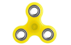 Αγχολυτικό παιχνίδι Fidget Spinner Anti Stress 1 minute - Yellow/Silver GL-50564 - top200