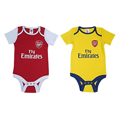 Arsenal baby onesie