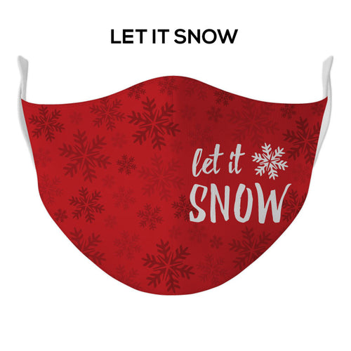 Let it Snow Face Mask