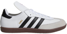 Load image into Gallery viewer, Adidas Men's Samba Classic Indoor Soccer Shoe (White)